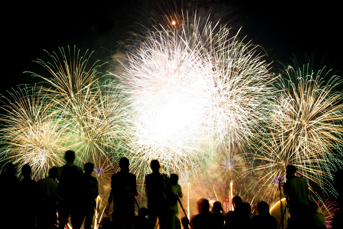 Fireworks in Illinois