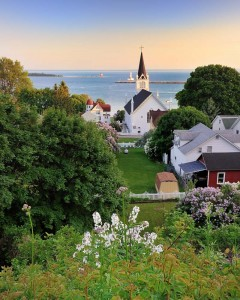 Mackinac Island Harbor small